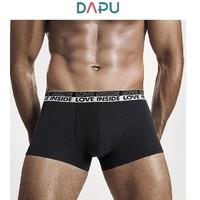 DAPU 大朴 AE6N22101 情侣款复古撞色内裤