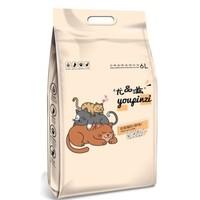 尤品滋 奶香味绿茶豆腐猫砂 6L *2件