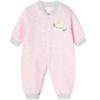 Bornbay 贝贝怡 花纱暖棉系列 婴儿加厚连体衣 BB1247