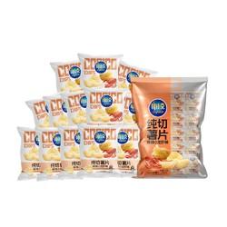 copico 可比克纯切薯片小龙虾15g*15包 *6件