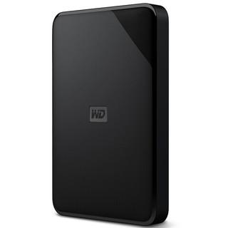 Western Digital 西部数据 Elements SE 新元素系列 WDBJRT0050BBK 移动硬盘 2.5英寸 USB3.0 5TB 黑色