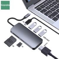 Gopala Type-C7合1擴展塢(PD、HDMI、USB3.0、TF/SD讀卡口)