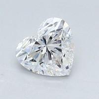 Blue Nile 1.04 克拉心形钻石