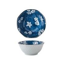 miske 陶瓷釉下彩八角米饭碗 5英寸 多款式可选 *4件