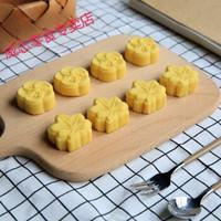大兴糕团 绿豆糕200g 8块装 城市伴手礼杭州特产传统手作糕点 LB6