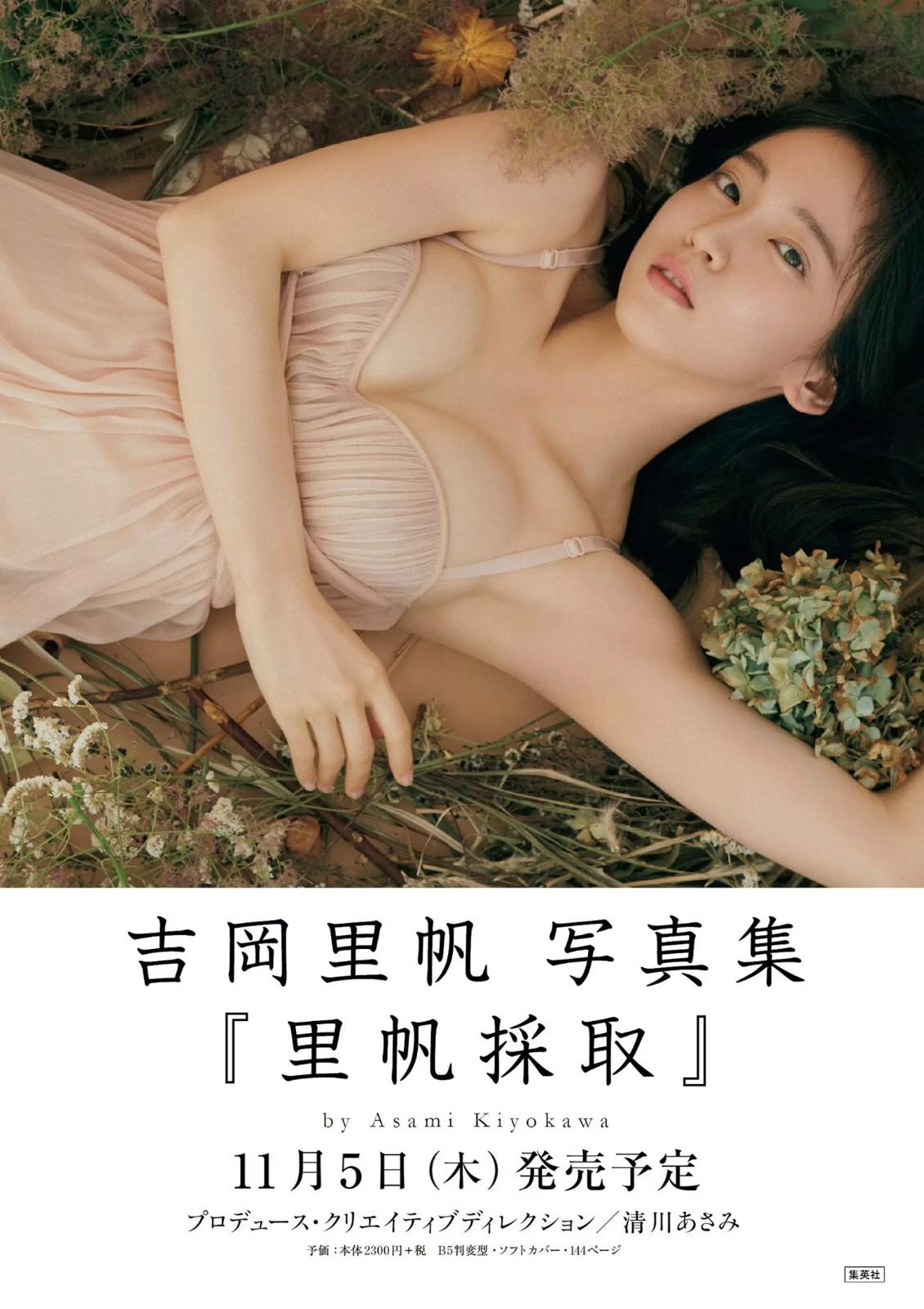 《吉冈里帆写真集:里帆採取》 日文原版
