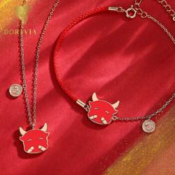 Dorivia 手链+项链套装