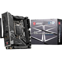 MSI 微星  MPG B460I GAMING EDGE WIFI 刀锋板电脑主板(INTEL B460/LGA 1200)