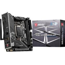 MSI 微星  MPG B460I GAMING EDGE WIFI 刀锋板电脑主板(INTEL B460/LGA 1200)