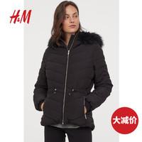 H&M 0872122 女装棉衣棉服