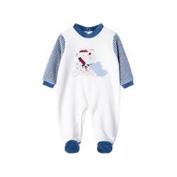 男童春秋哈衣连体衣外出服婴儿长袖宝宝婴儿新生儿