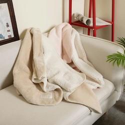 双面绒礼品小毛毯休闲长毛绒毯午睡办公室盖毯空调毯70X120CM