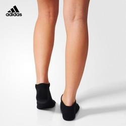 阿迪达斯官网 adidas 训练 男女 低跟袜子 黑 AA2283 AA2283 3942