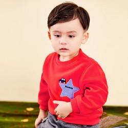 秋上新男童卫衣保暖加绒套头宝宝卫衣2020年童装儿童上衣