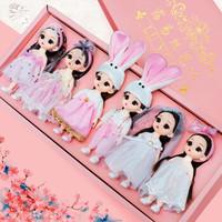 露易丝 换装娃娃 六小公主套装 大礼盒装