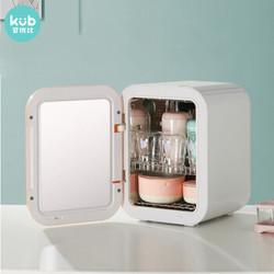 可优比(KUB)婴儿消毒柜带烘干紫外线消毒器16L双灯管杀菌玩具家用多功能宝宝奶瓶消毒器赫利尔粉