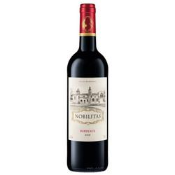 雾榭园干红葡萄酒 750ml单支装 法国原瓶进口红酒 波尔多AOC 单只装 *3件