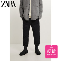 ZARA男装 松紧腰修身束脚牛仔裤 05862457800