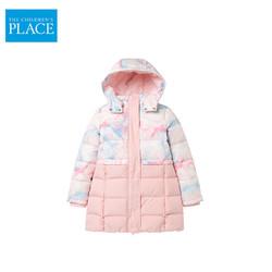 TCP北美绮童堡童装2020冬季新款女童中大童中长款儿童羽绒服