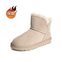 Tata/他她2020冬专柜同款雪地靴百搭保暖女靴新