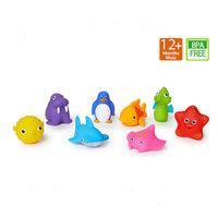 munchkin 满趣健 宝宝海洋小动物洗澡喷水玩具 8只装