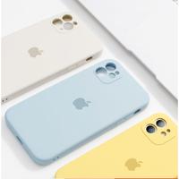 PAGOOC iPhone6-12系列 直边液态硅胶保护壳 多款可选