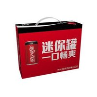Coca-Cola 可口可乐 零度可乐 MINI CAN 200ML*20罐 *5件
