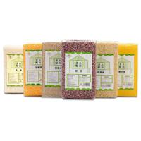 禾田塔拉 杂粮粗粮 大米 玉米碴 红豆 黄小米 燕麦米 藜麦 500g *4件