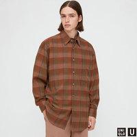 UNIQLO 优衣库 431387 男款法兰绒格子衬衫