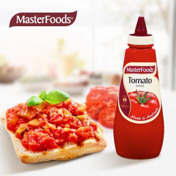 京东PLUS会员 :  MasterFoods 我的食刻 番茄酱 挤压瓶装 500ml  *7件