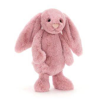 有券的上:Jellycat 邦尼兔 经典害羞系列 粉红郁金香 小号18cm