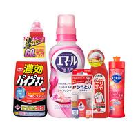 考拉海购黑卡会员:Kao 花王 + LION 狮王 衣物清洁套装 5件套