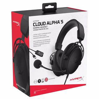 HYPERX Cloud系列 Cloud Alpha S 阿尔法加强版 游戏耳机