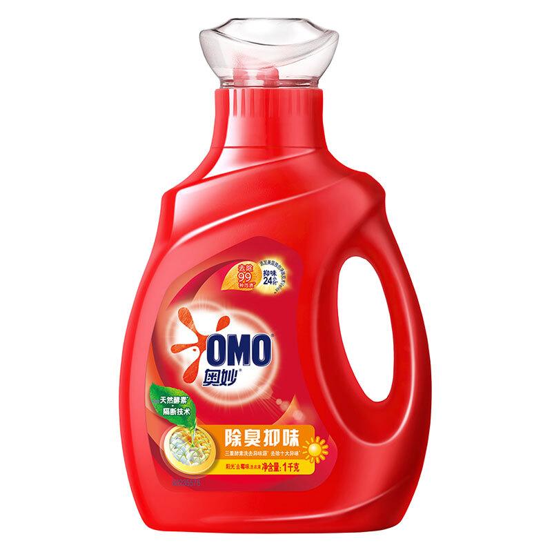 OMO 奥妙 除臭抑味系列 洗衣液 1kg