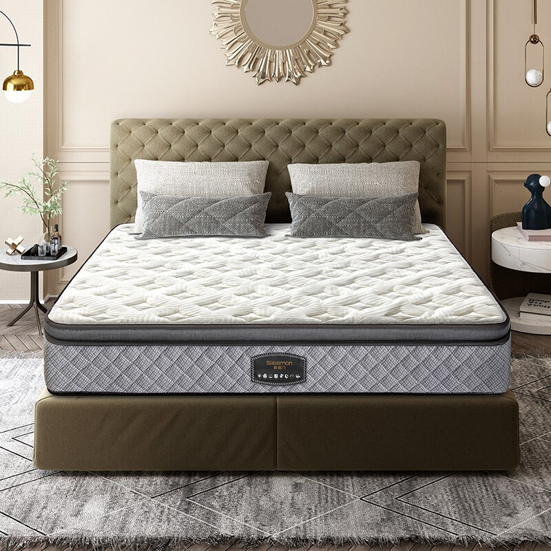 喜临门3CM乳胶床垫 7区小孔径独立弹簧床垫席梦思  速眠 速眠·智睡版 150*200cm