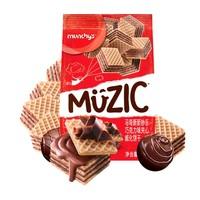 munchy's 马奇新新 巧克力威化饼干 90g*2件+ 豆本豆 豆奶色谷香定制款250ml*24盒谷*2件