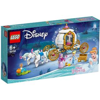 LEGO 乐高 迪斯尼系列 43192 灰姑娘的皇家马车