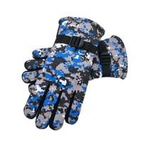 夜冰雪 A02_wddHP 迷彩加绒手套