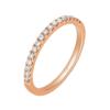 CHOW TAI FOOK 周大福 小心意系列 U131379 女士玫瑰18K金钻石戒指