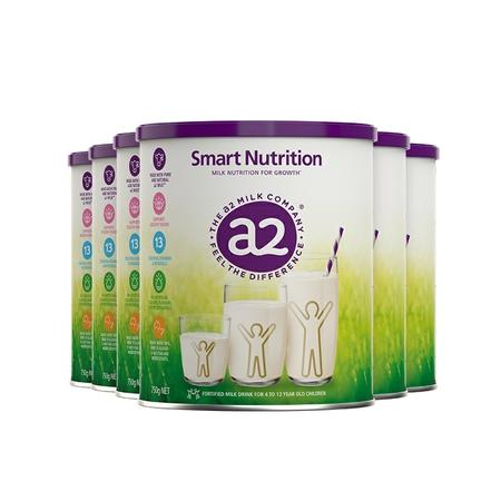 a2 艾尔 儿童成长营养奶粉 750g*6