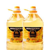 88VIP:迈萨维诺 压榨葵花籽油 5L*2桶