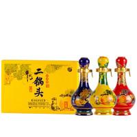 Niulanshan 牛栏山 二锅头 珍品 经典 52%vol 清香型白酒 50ml*3 礼盒装