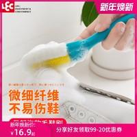 日本LEC软毛鞋刷子不伤鞋刷家用超软洗鞋子专用刷多功能清洁神器