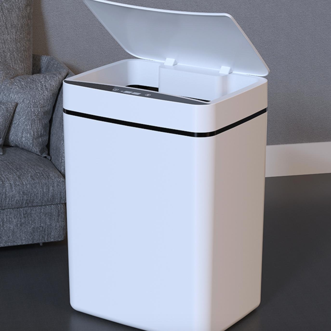 京东PLUS会员 : 佳佰 智能感应垃圾桶 电池款 12L *2件