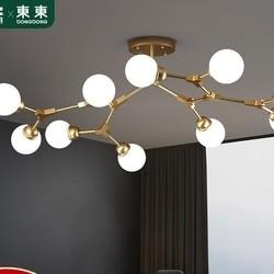 DongDong 東東家居 星梦 客厅吊灯 10头分子灯