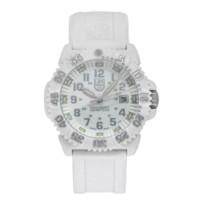 Luminox 白色海军海豹色标石英男士手表XS.3057.WO