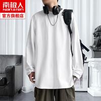 Nanjiren 南极人 男士休闲圆领长袖t恤