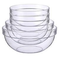 Luminarc 乐美雅 玻璃沙拉碗套装 6件套 500ml*4+950ml*1+1500ml*1