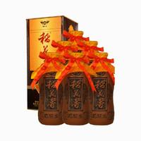 稻花香52度窖藏5浓香型白酒500ml*6瓶 整箱