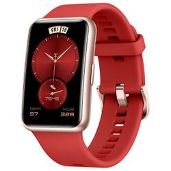 HUAWEI 华为 WATCH FIT 新年红 智能手表